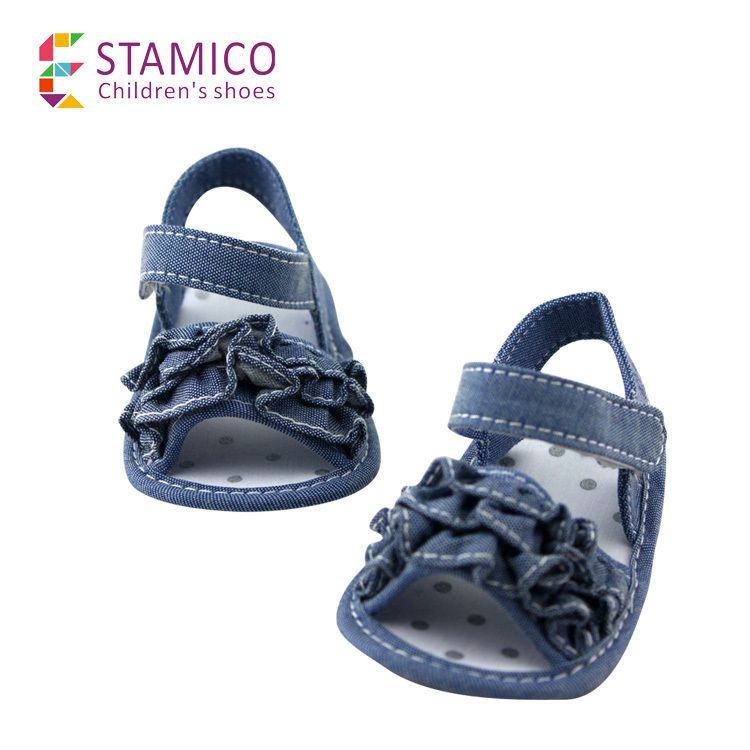 >> Click to Buy << Toddler Denim Floral Baby girls Shoes First Walkers Fashion princess Girls' Wave Floral Decor Baby shoes #Affiliate