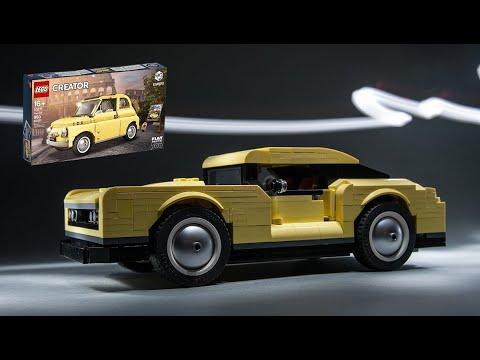 Lego 10271 Fiat 500 Custom Alternative Moc Model Muscle Car Youtube Fiat 500 Lego Lego Cars