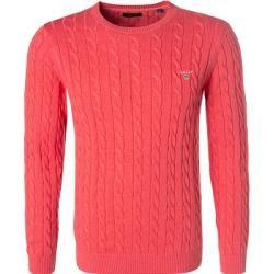 Photo of Gant Herren Pullover, Baumwolle, pink rosa Gant