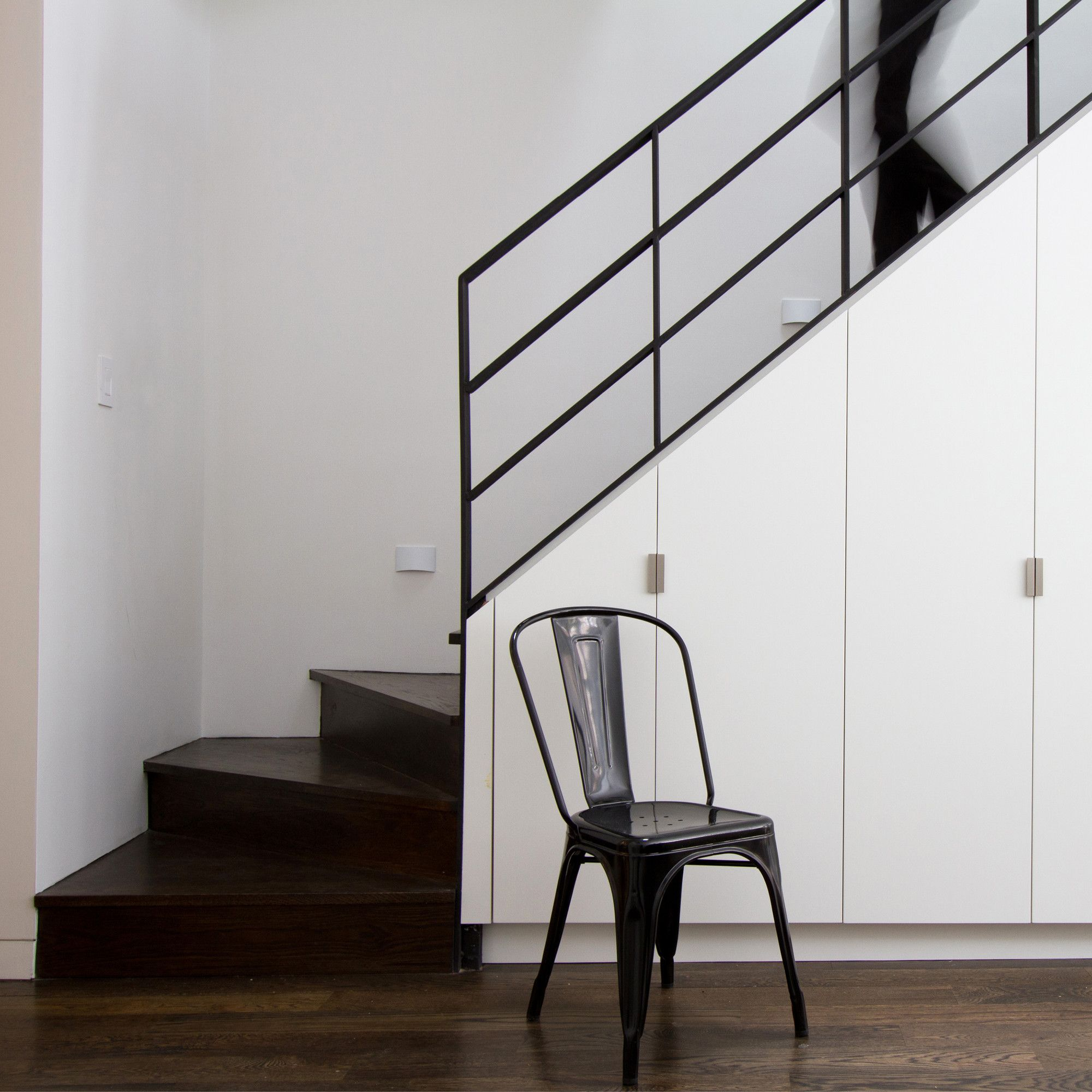 Modern hallway storage ideas  Gallery of Brooklyn Row House  Office of Architecture
