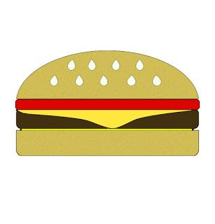 free clipart free burger image free burger clipart free burger rh pinterest com burger clipart outline burger clipart picture