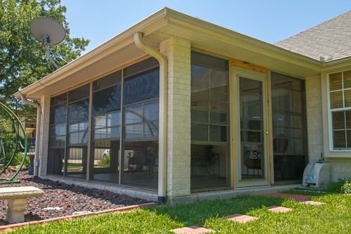 Enclosed Porches With Doors Cabana Door Along With