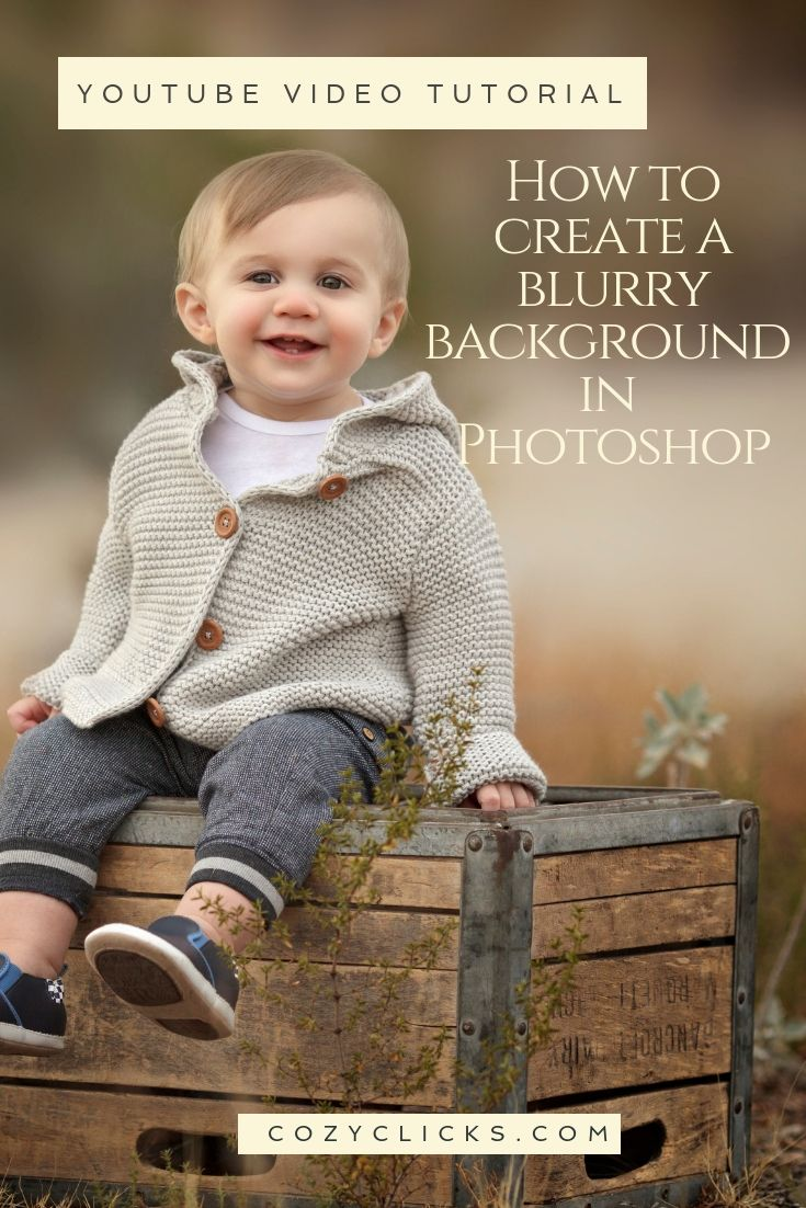 How to create a blurry background in Photoshop in this ...
