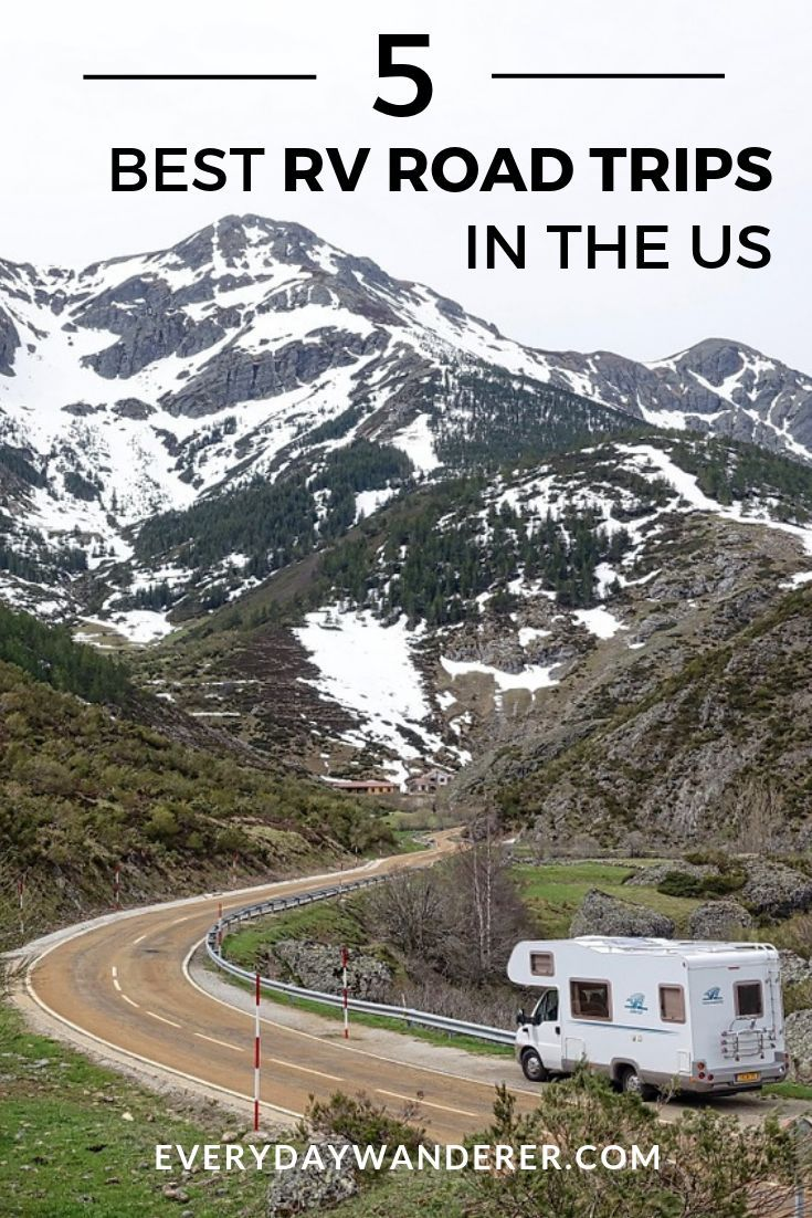 The Best RV Road Trips in the US