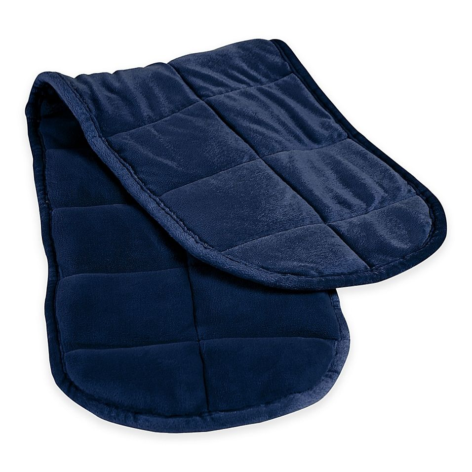 Therapedic Weighted Neck Wrap In Navy Neck Wrap Wrap Weighted Blanket