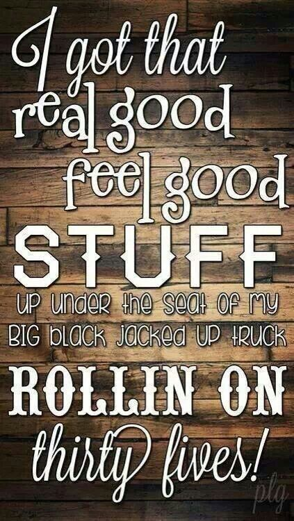 My Big Black Jacked Up Truck Country Song