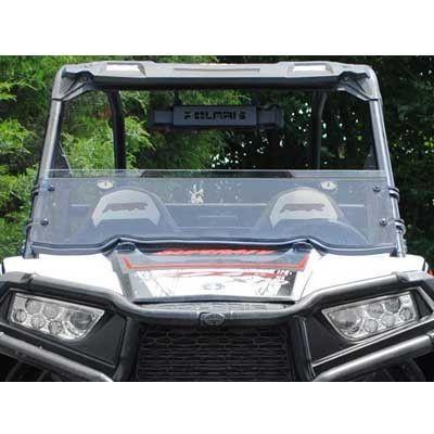 Super ATV RZR 1000 & 900 Scratch Resistant Half Windshield