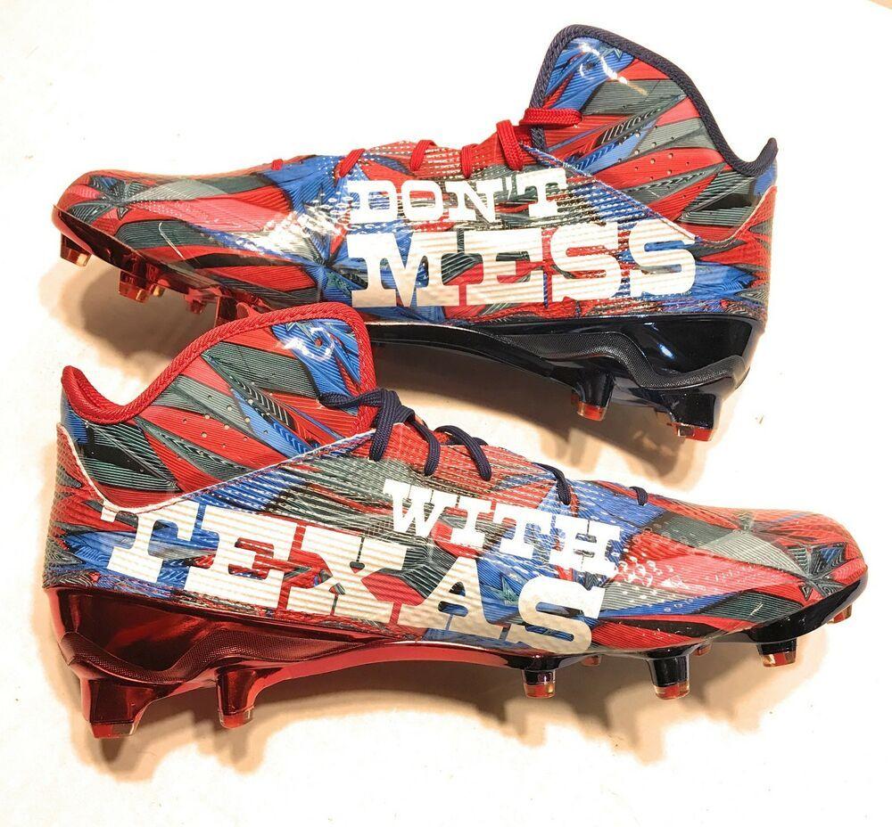 Adidas size 12 adizero 5 star 50 dont mess with texas
