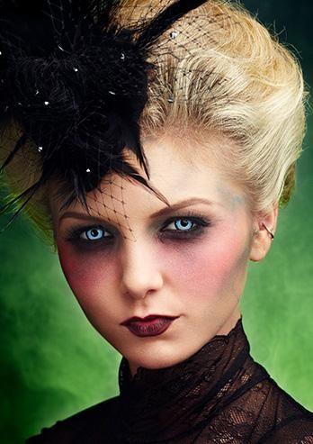 vampire girl kryolan professional make up halloween. Black Bedroom Furniture Sets. Home Design Ideas