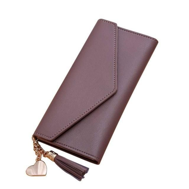 Xiniu women wallets luxury brand wallets designer purse Long Wallet Tassel Coin Purse Card Holders bags #6M