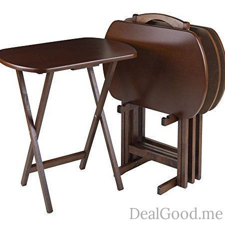 Winsome Wood Tv Tray Set