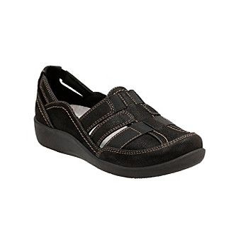 """Clarks® """"Sillian Stork"""" Cloudsteppers™ Casual Slip-Ons"""