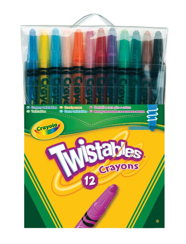 Crayola 12 Twistable Crayons Amazon.co.uk Toys & Games