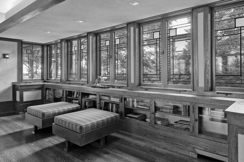 Elegant Edward E. Boynton House, Rochester NY | Frank Lloyd Wright | Photo © John