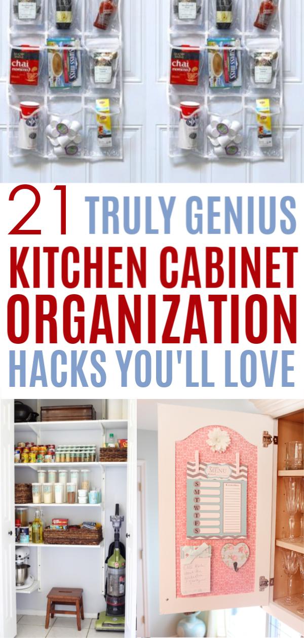 21 Brilliant Ways To Organize Kitchen Cabinets You Ll Kick