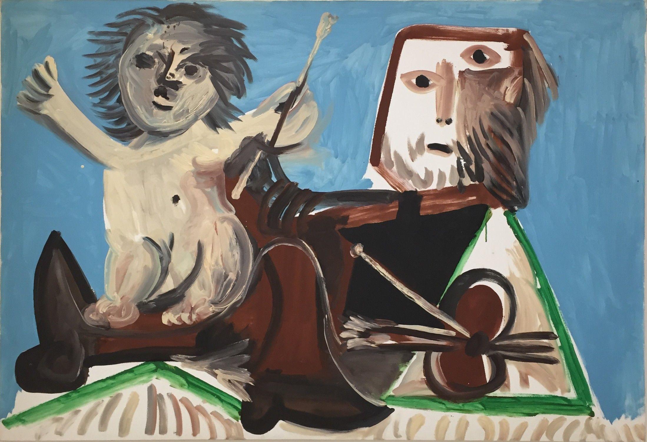 1969 Le Peintre Et L Enfant Musee Picasso Paris 29 Sept 2015