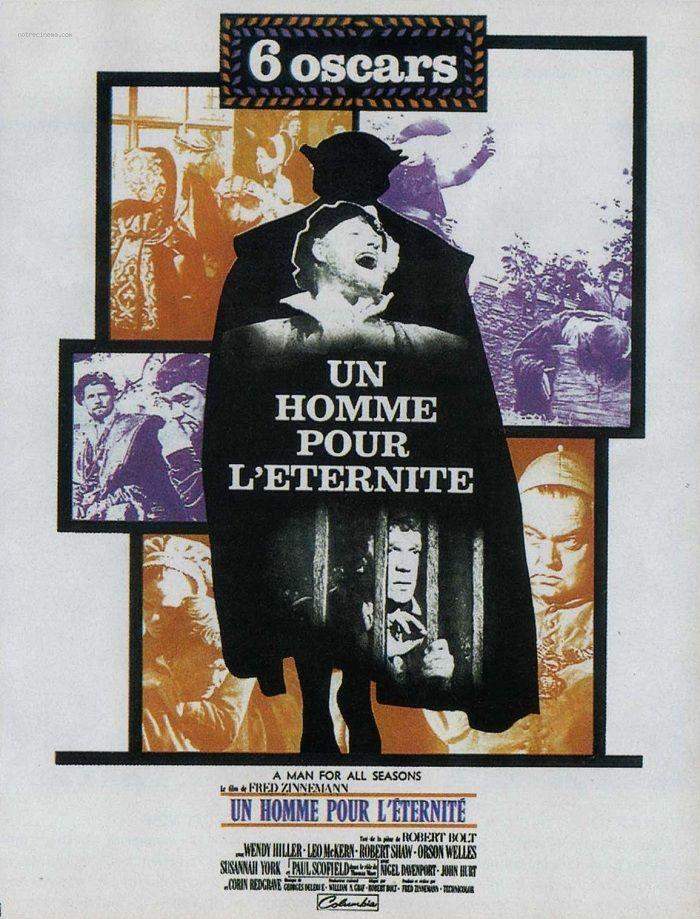 1967 UN HOMME POUR L'ETERNITE   Éternité, Homme, Film