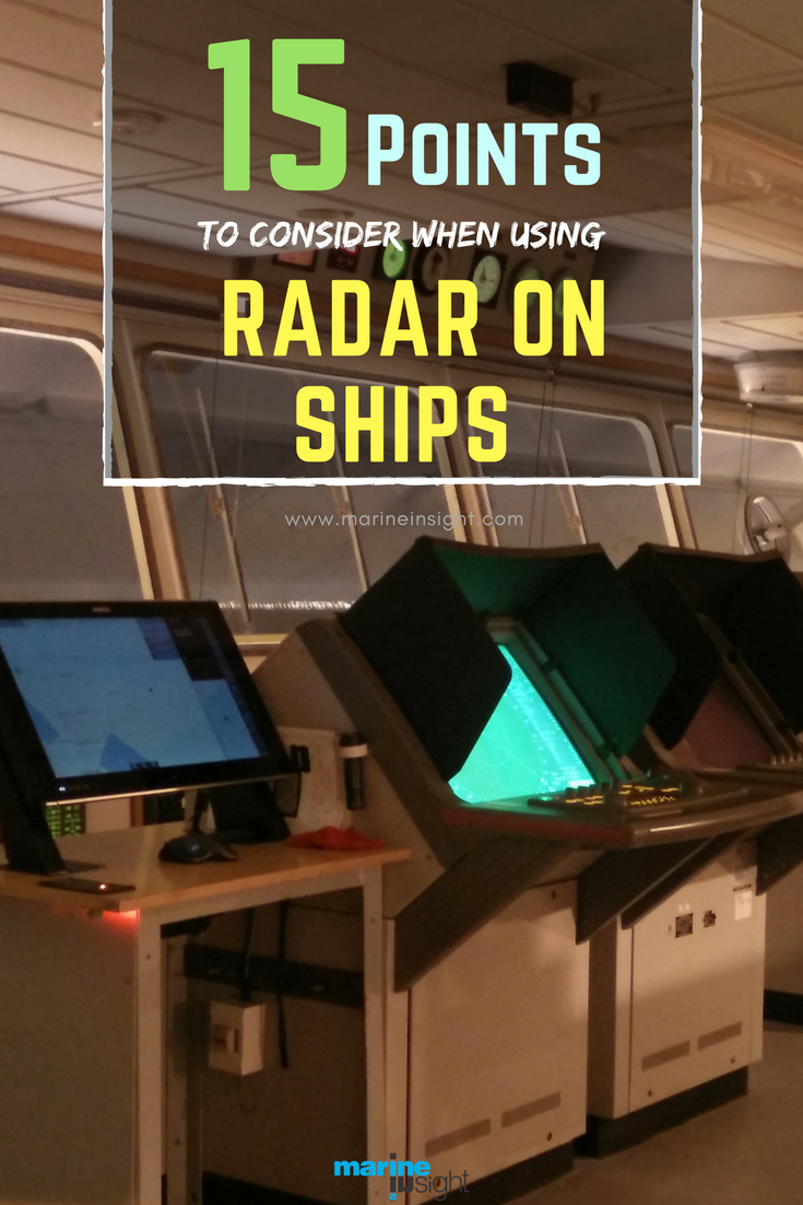 15 Things To Consider While Using Radar On Ships Ship