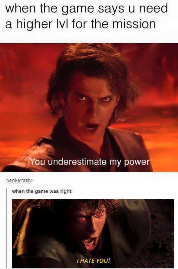 Gaming Humor Via Star Wars Memes Funny Gaming Memes Funny Star Wars Memes Star Wars Jokes