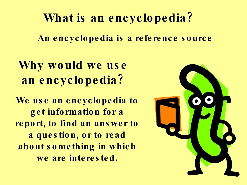 Encyclopedia Lesson For 4th Grade By Tiger Creek