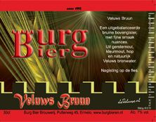 Burg Bieren - Veluws bruun 7.0%