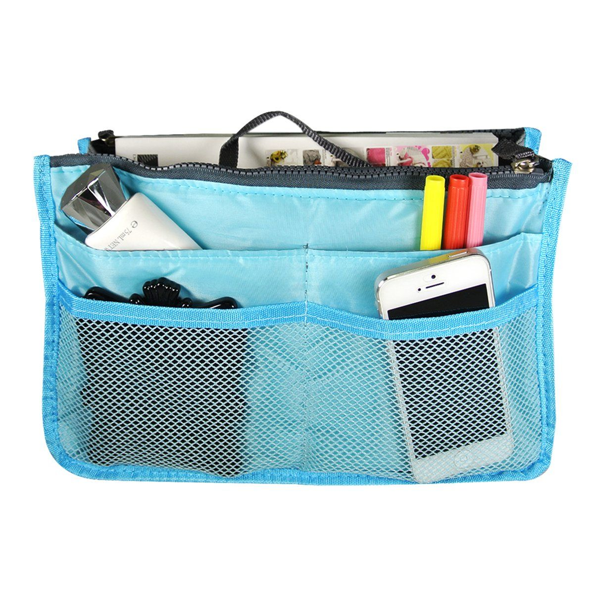Amazon.com - Wrapables Unisex Bag Insert Organizer/Travel Bag ...