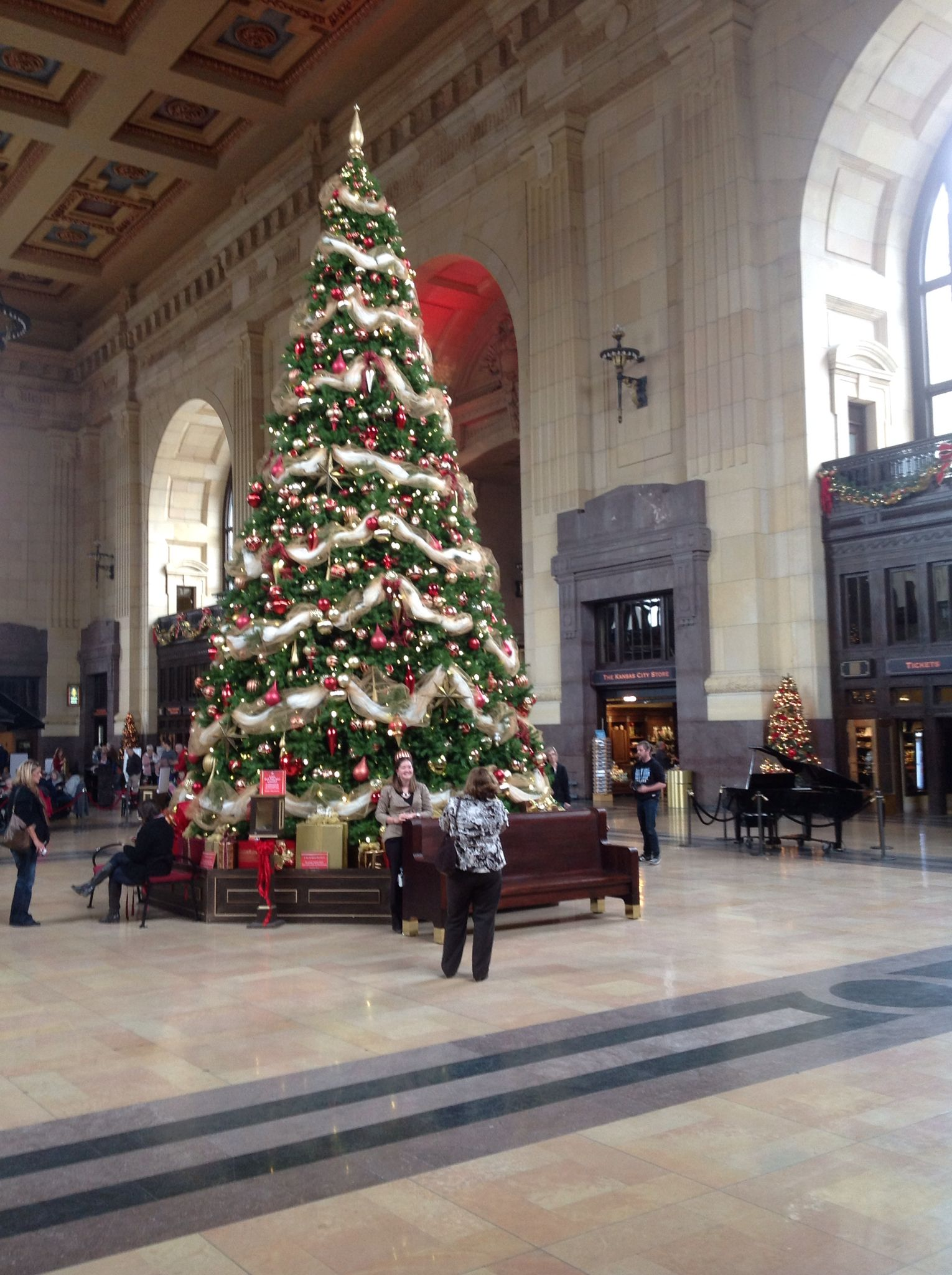 Union StationChristmas 2014 cannot wait to be there in 2