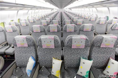 Hello Kitty Airplane Inside