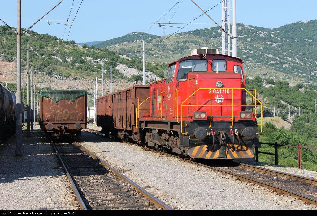 2041 110 H Hrvatske Eljeznice 2041 At Krljevo Croatia By The 2044 Croatia Train Photographer