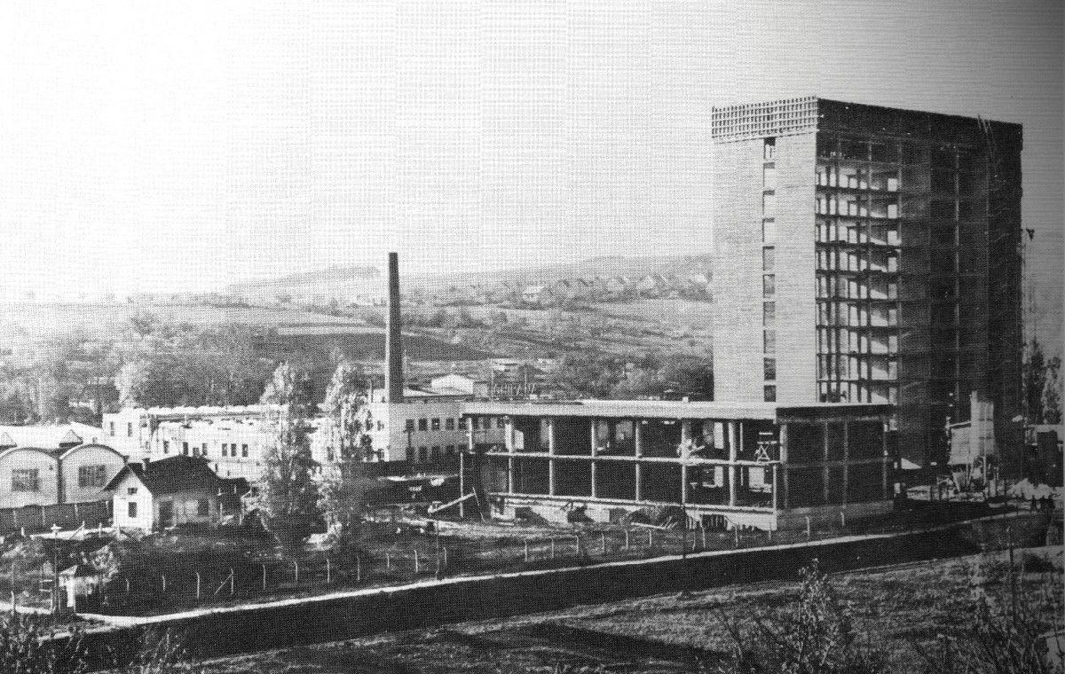 Chirana administrative building 1970