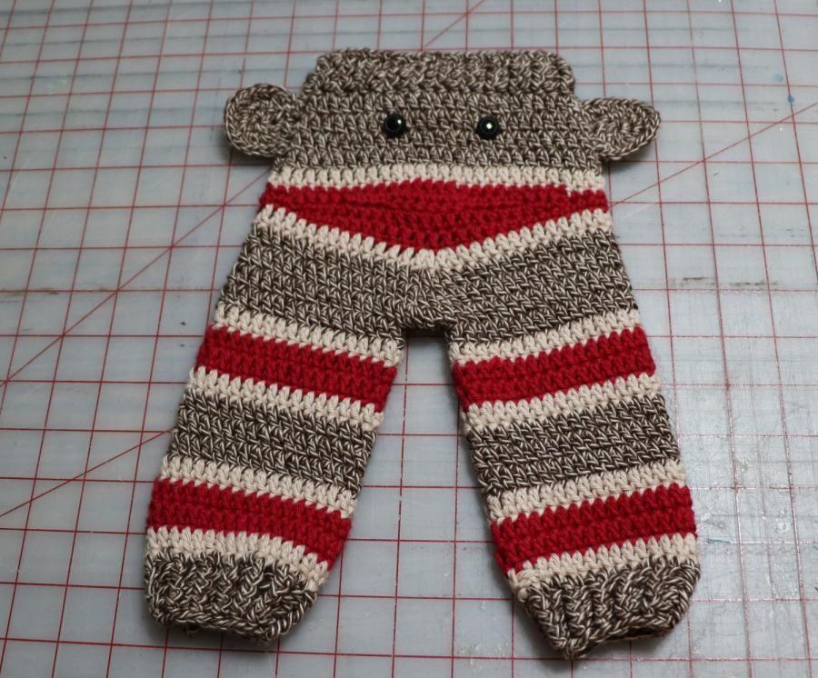 Sock Monkey Butt Pants By Doneldas Creations Crochet 1 All About