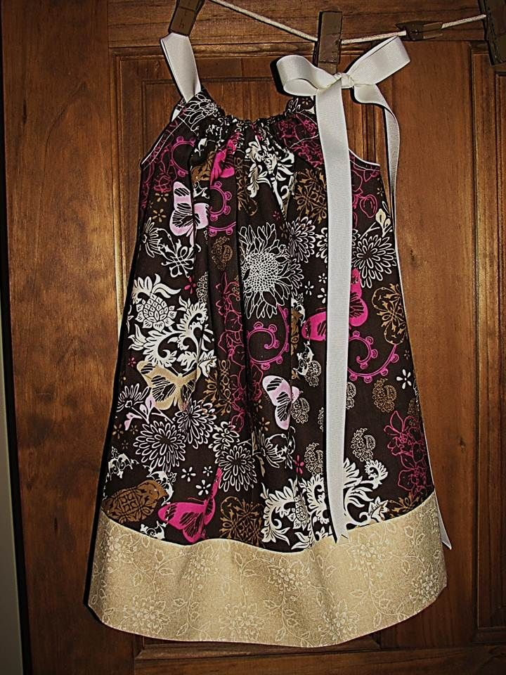 Butterfly Delight Pillowcase Dress My Blog Has Links To Several
