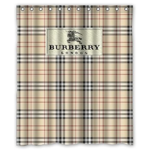burberry appeal loss shower curtain
