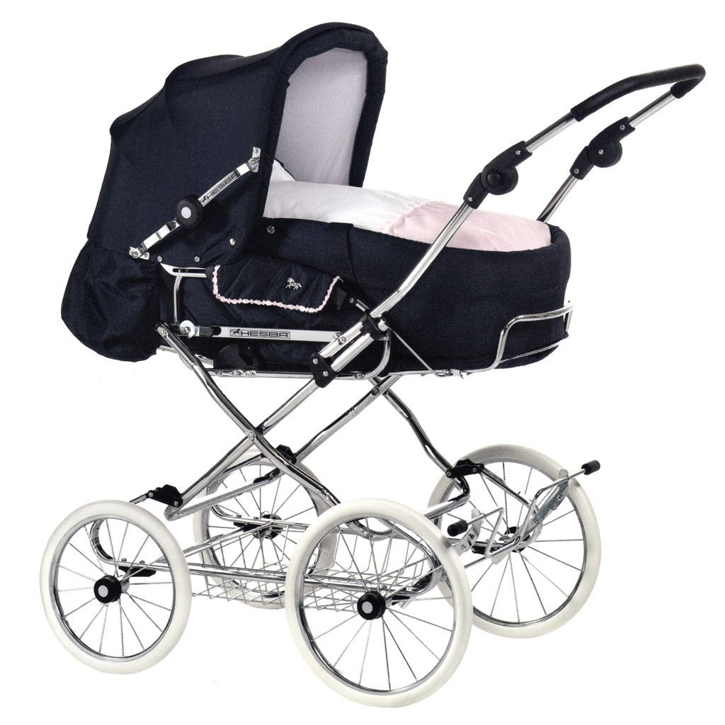hesba corrado lady kinderwagen g nstig kaufen baby carriage pinterest navy babies and. Black Bedroom Furniture Sets. Home Design Ideas
