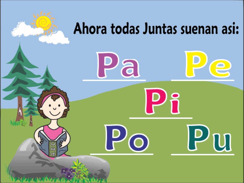 Letra P Y Las Vocales Lista De Reproduccion