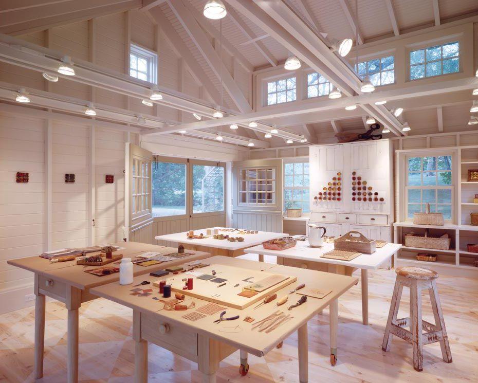 Delightful 20 Inspiring Artist Studio Designs