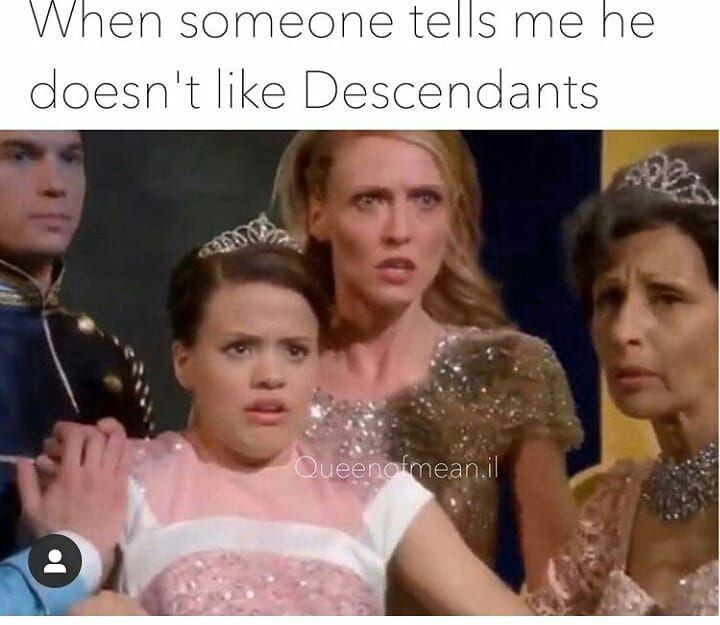 "@_xdescendantx_ on Instagram: ""It's totally that � @queenofmean.il #disney #disneychanel #descendants2� #descendantsedit #descendants3� #descendant #descendants2…"""