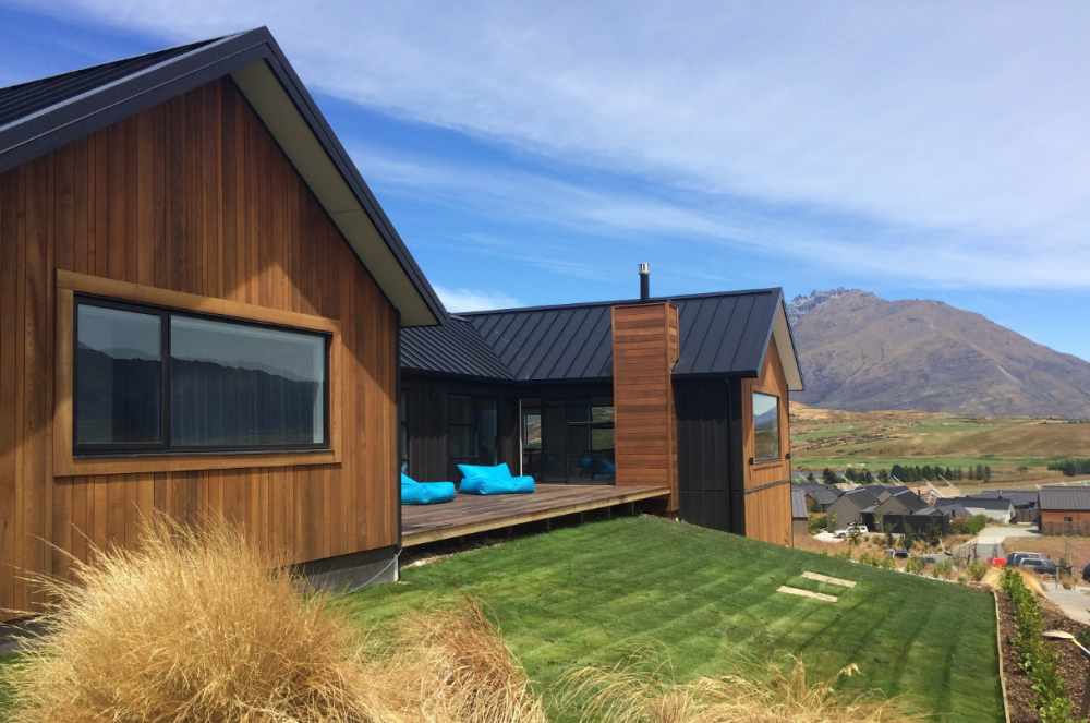 Bespoke home, Architectural house, cedar, corten steel