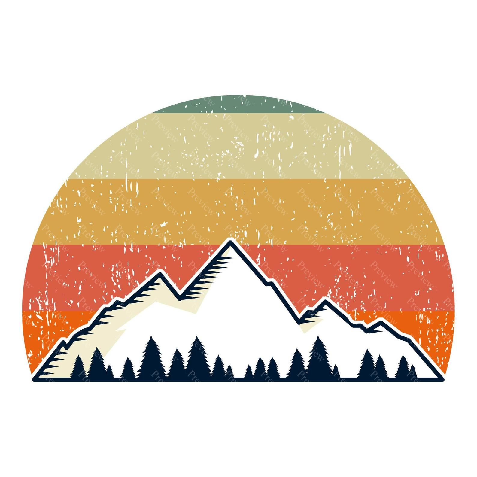 Mountain Clipart Png