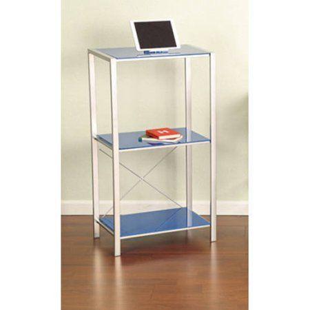 Garrett Metal Student Desk Removable Center Shelf Storage Organizer Furniture