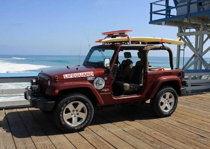 modified jeep wrangler used for lifeguard duty for the city of san clement california jeep. Black Bedroom Furniture Sets. Home Design Ideas