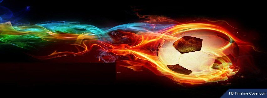 Flaming Soccer Ball Wallpaper: Soccer Ball Fire With Colors