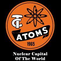 Tri City Atoms Vintage Graphic Design Vintage Graphics Tri Cities