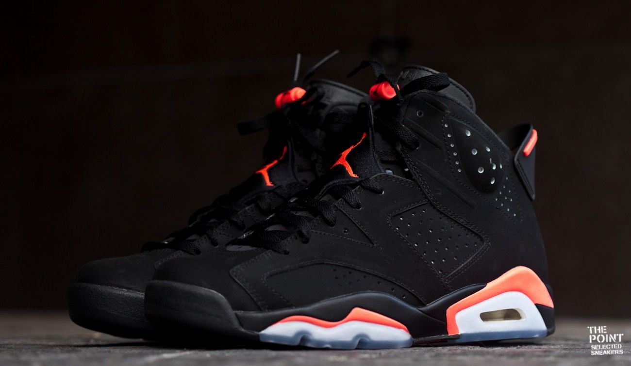 air jordan 6 fusion black infrared heater