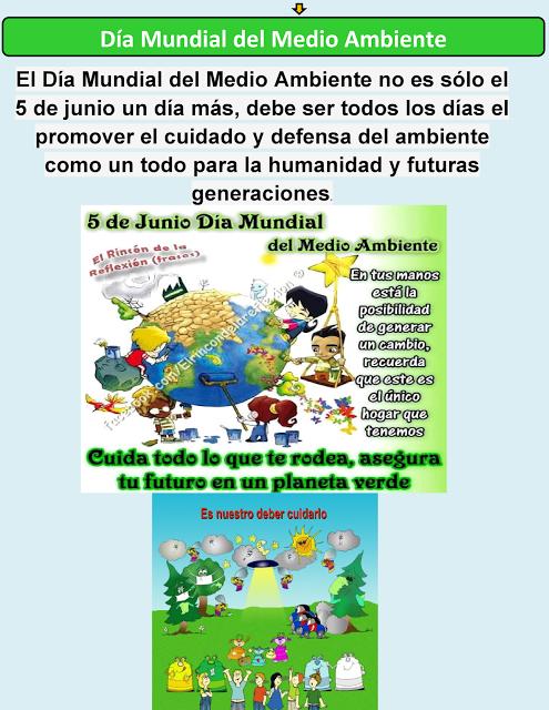 Dia Mundial Del Medio Ambiente Environment