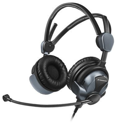 78d788a19ed Sennheiser HMEC-26-BV-K ANR Headset - A lightweight pro headset with Active  Noise Reduction. Stereo/Mono, dual volume controls, cell phone and audio  inputs, ...