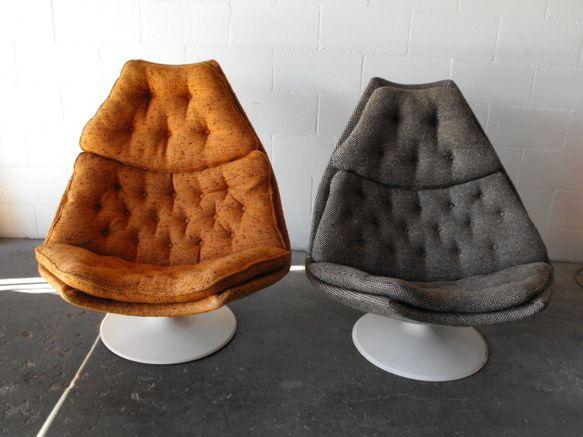 beautiful swivel club chairs | Geoffrey Harcourt for Artifort Swivel Lounge Chair ...