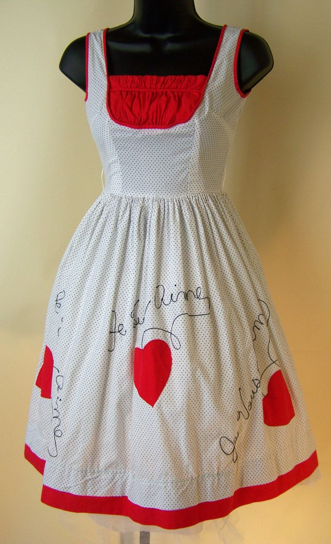 Vintage fat hiding goodness pinterest white polka dot dress