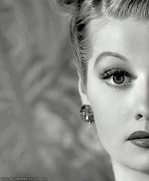 lucille ball. what a beautiful picture.