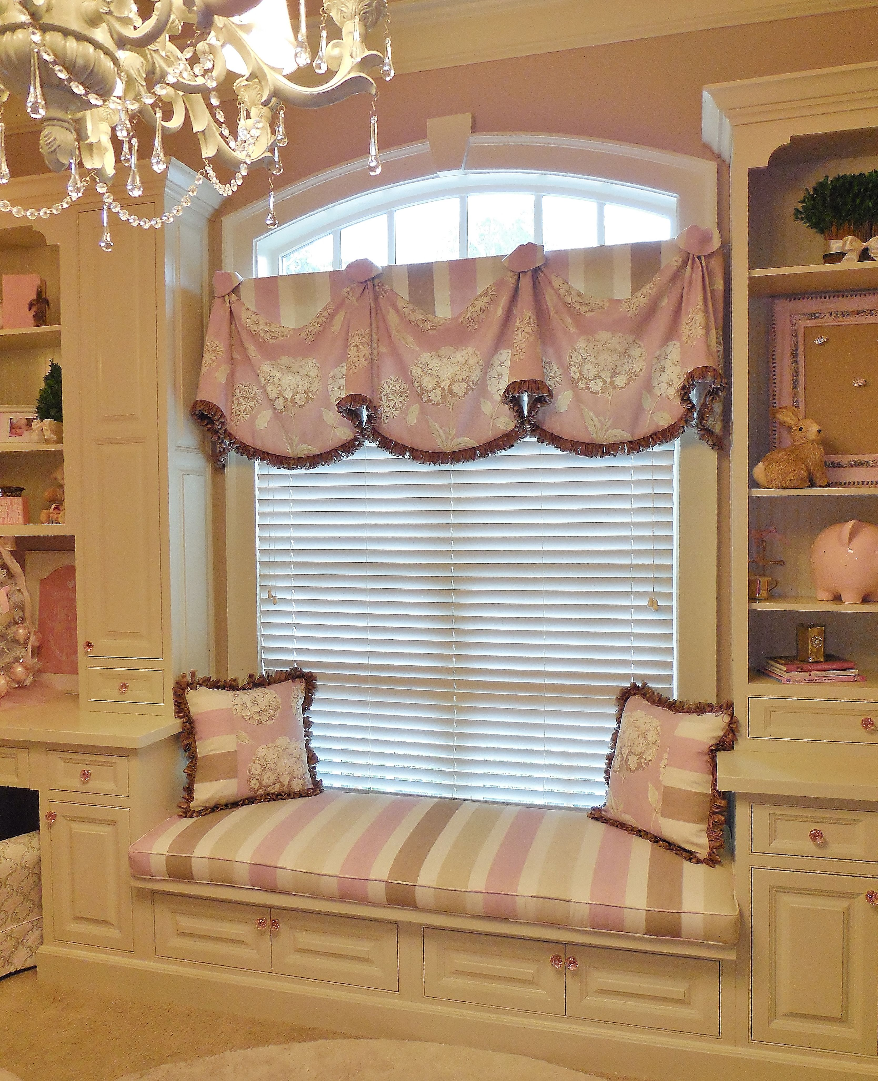 Our Rio Valance With A Matching Cushion And Pillows